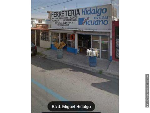 venta local comercial col miguel hidalgo 1250000