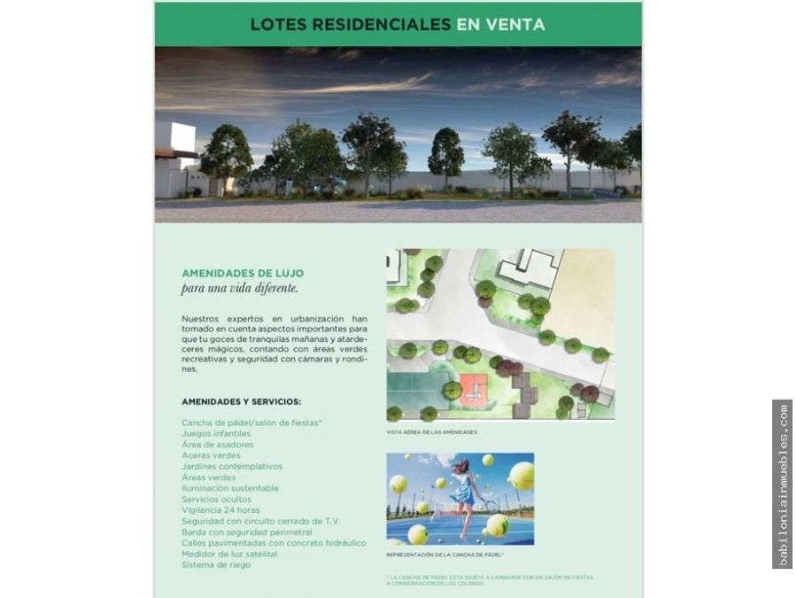 venta lotes residenciales fracc rincon esmeralda