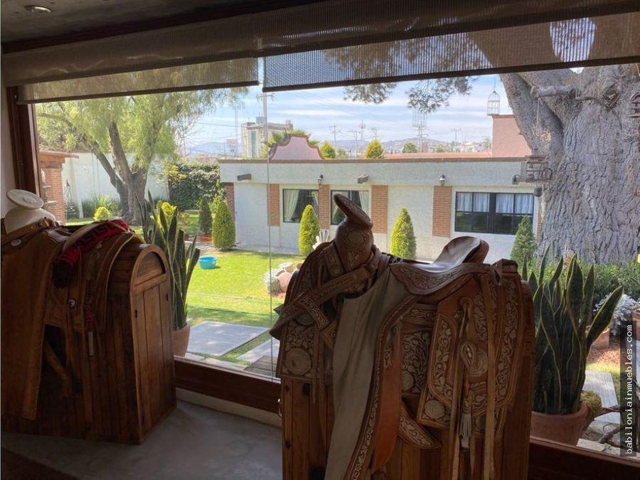 venta preciosa casa residencial santa matilde hgo