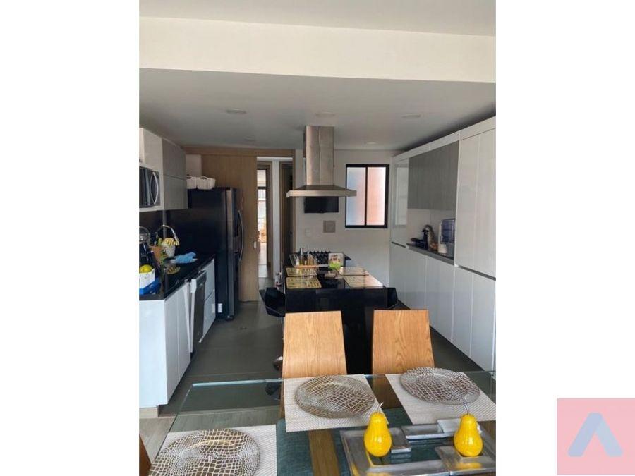 venta apto en virrey 165 m2 3 alcobas 4 banos con terraza y vista