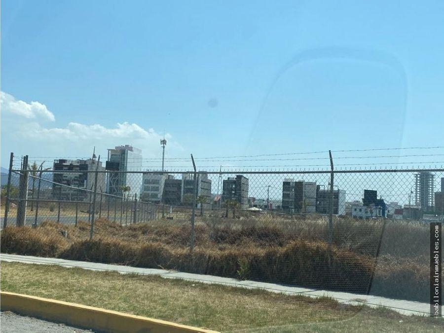 venta terreno comercial en zona plateada de pachuca