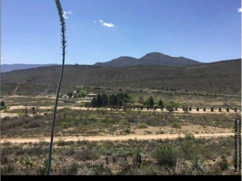 venta terreno campestre hacienda espana ramos arizpe 150000