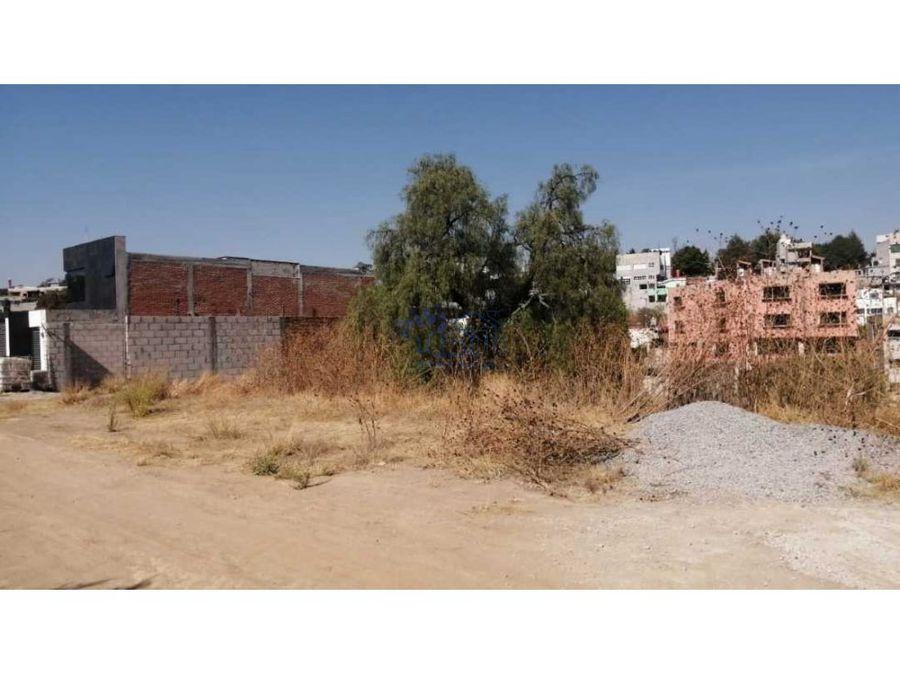 venta terreno residencial san fco calle del convento tlaxcala centro