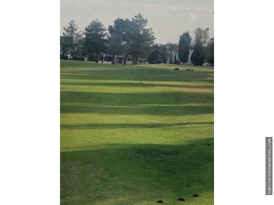 venta terreno residencial club de golf