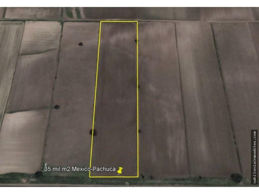 venta terreno rustico carretera mexico pachuca