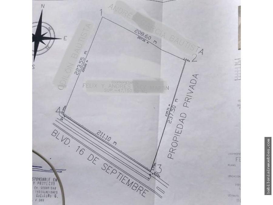 venta terreno rustico villa de tezontepec platah