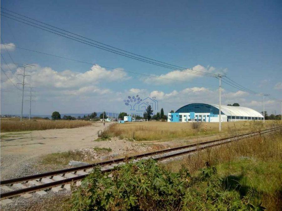 venta terreno zona industrial xiloxoxtla