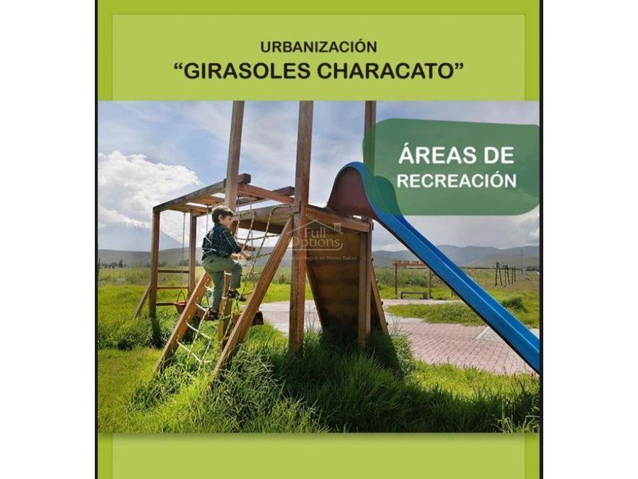 venta terrenos proyecto residencial en characato
