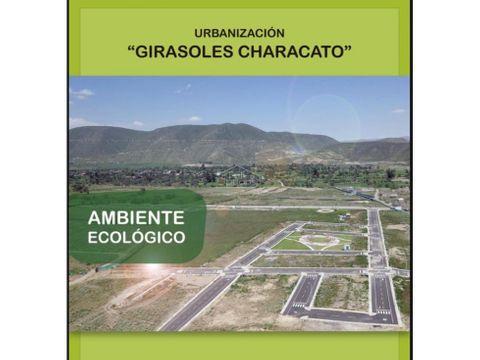 venta terrenos en characato