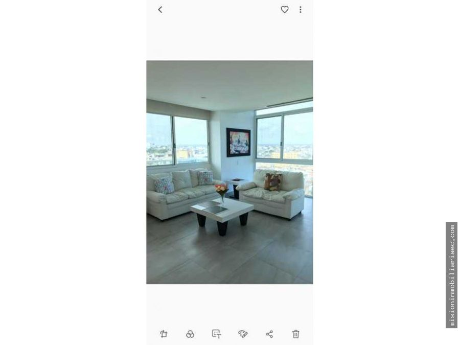 venta y alquiler de departamento con vista al mar