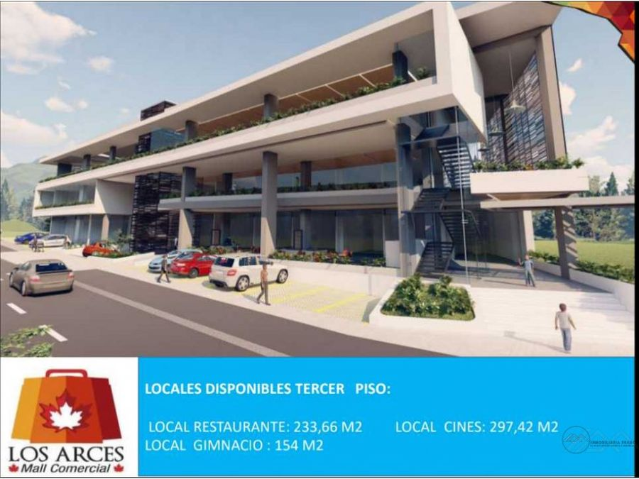venta 4 locales 385 m2 hasta 5451 m2