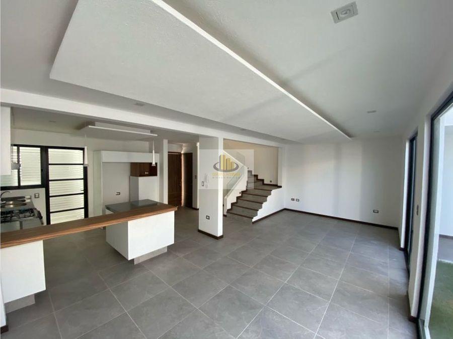 venta 6 casas nuevas morillotla cholula 3 recamaras con 3 banos