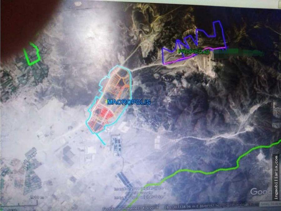 venta 80 hectareas en lurin