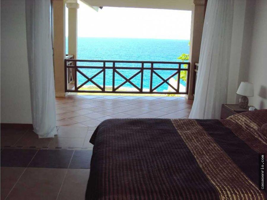 villa en venta frente al mar rsj