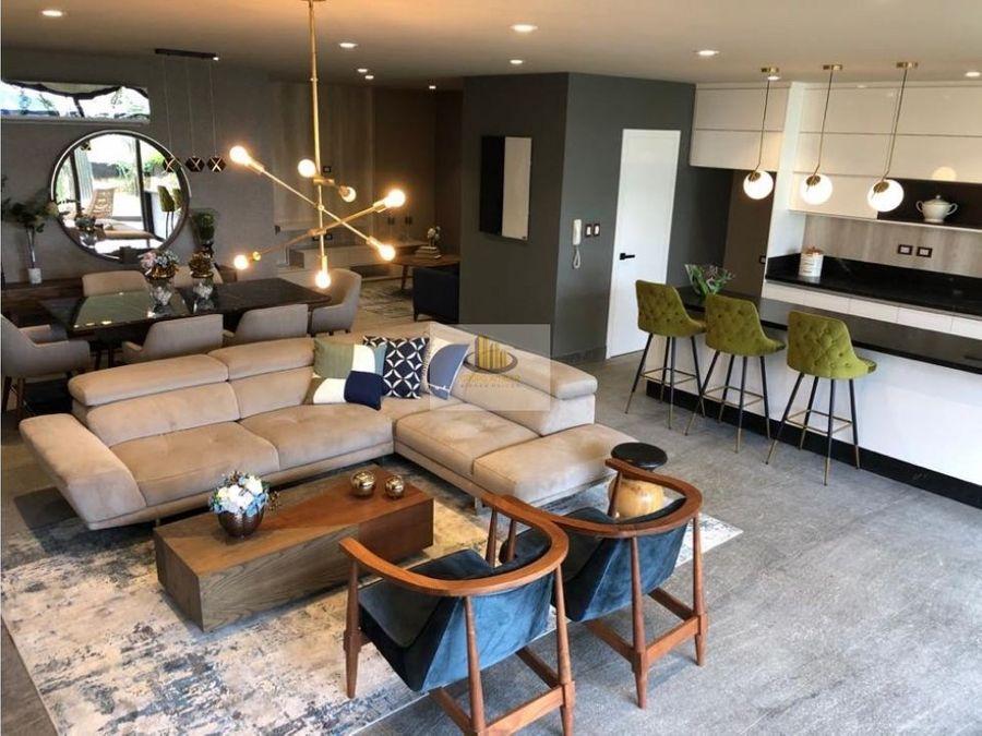 vive en baga 12 residencias con amplios espacios y elevador propio