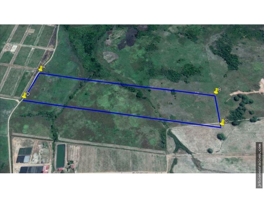 10 hectareas en venta zona rural en la selva peruana