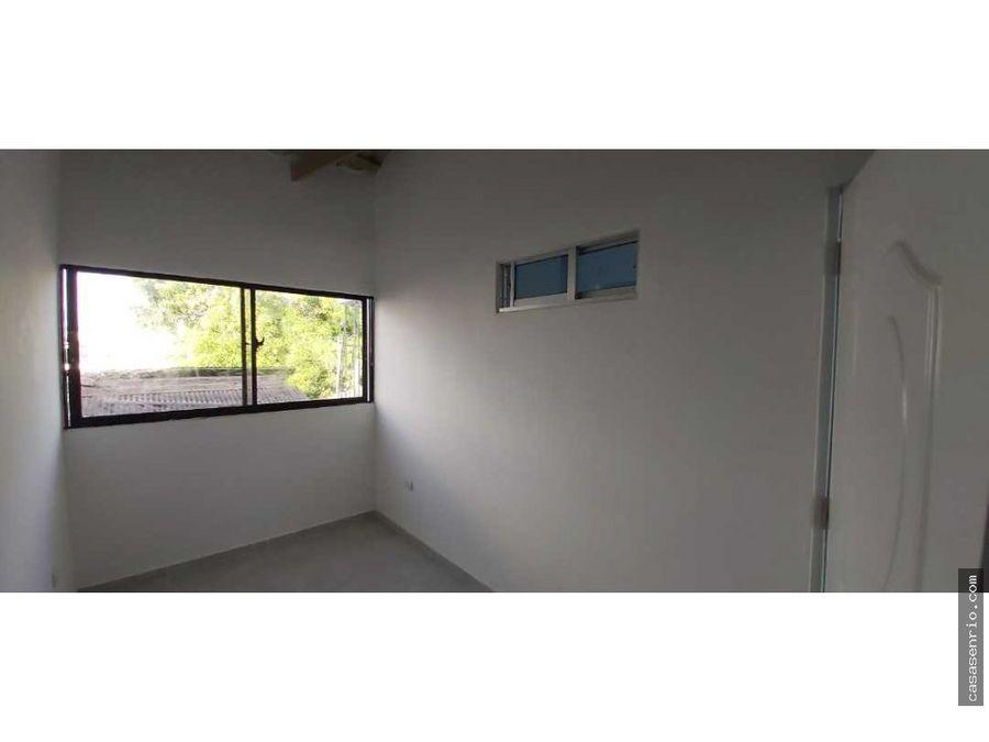 apartamento 2 habitaciones en renta en rio san juan