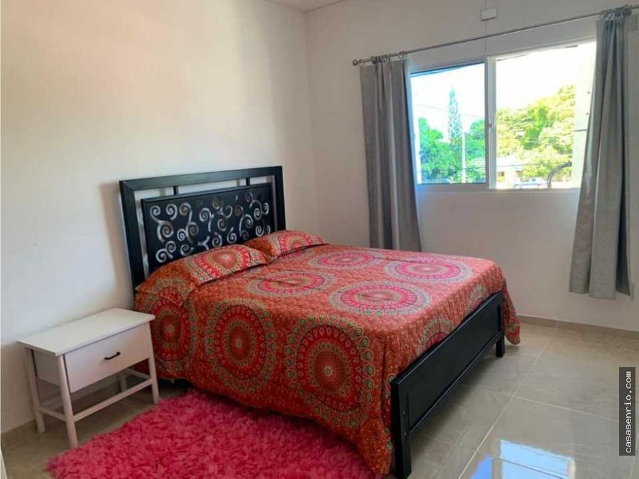 3 habitaciones en alquiler en rio san juan