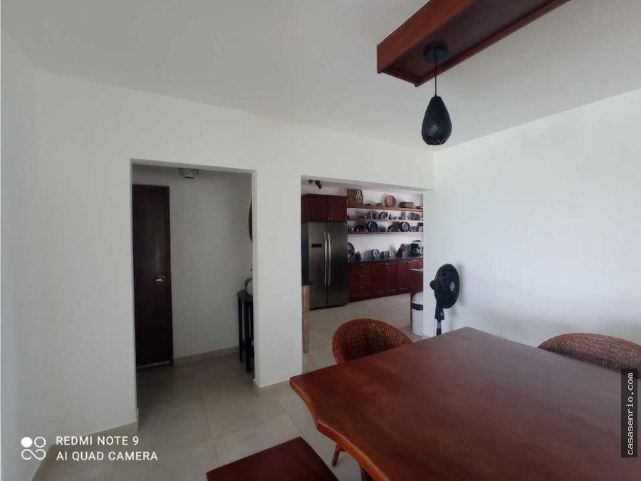 4 bedrooms house ocean front for rent in cabrera