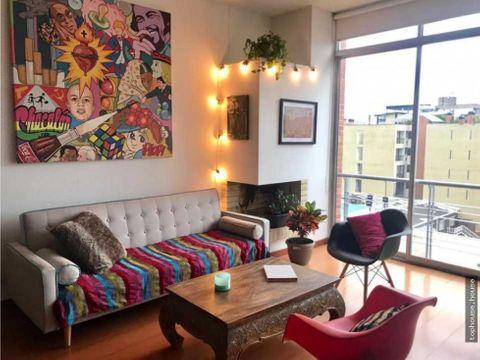 784 hermoso apartaestudio tipo loft de 67 m2 exterior