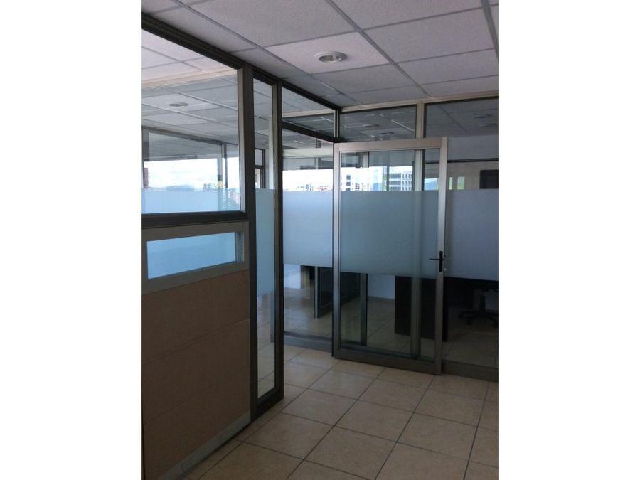 alquiler de oficina edificio torino zona 10