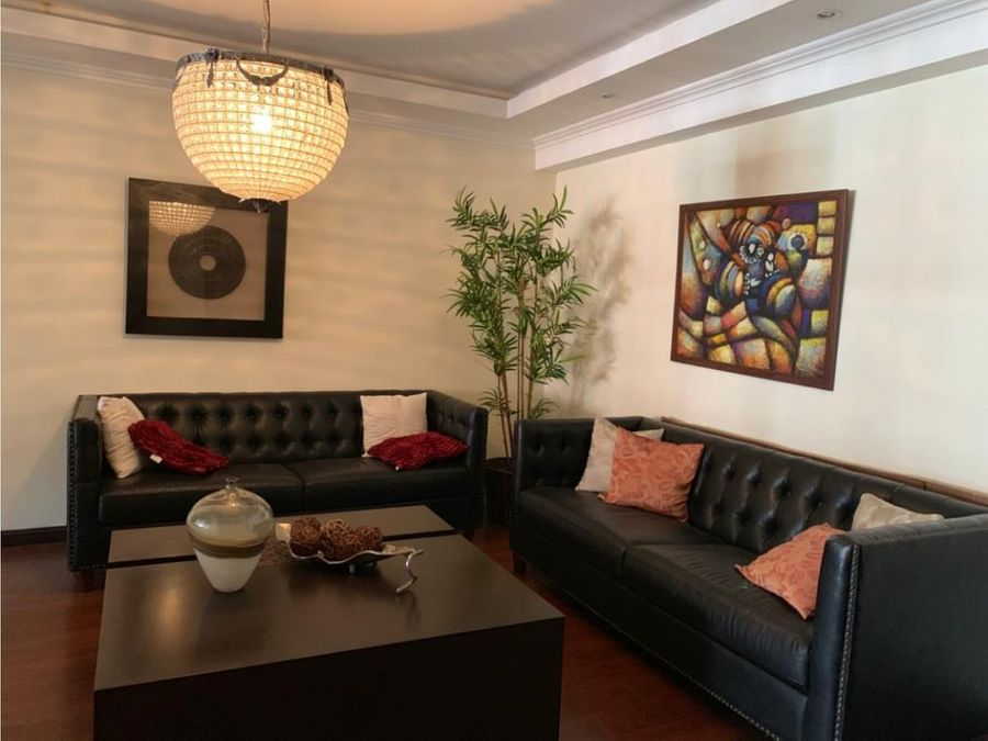 alquiler de apartamento amueblado en zona 14