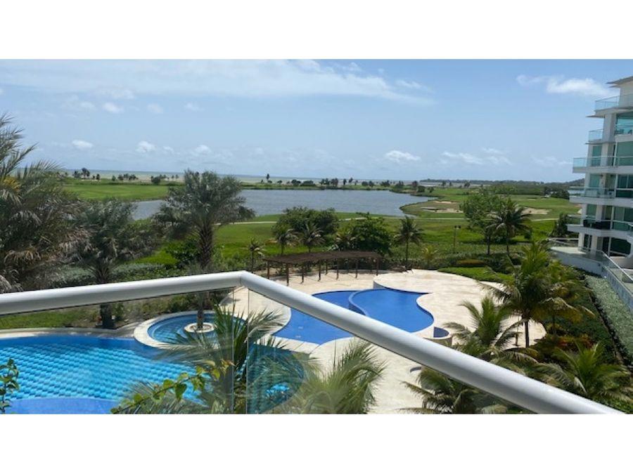 venta apartamento dos alcobas karibana cartagena golf beach