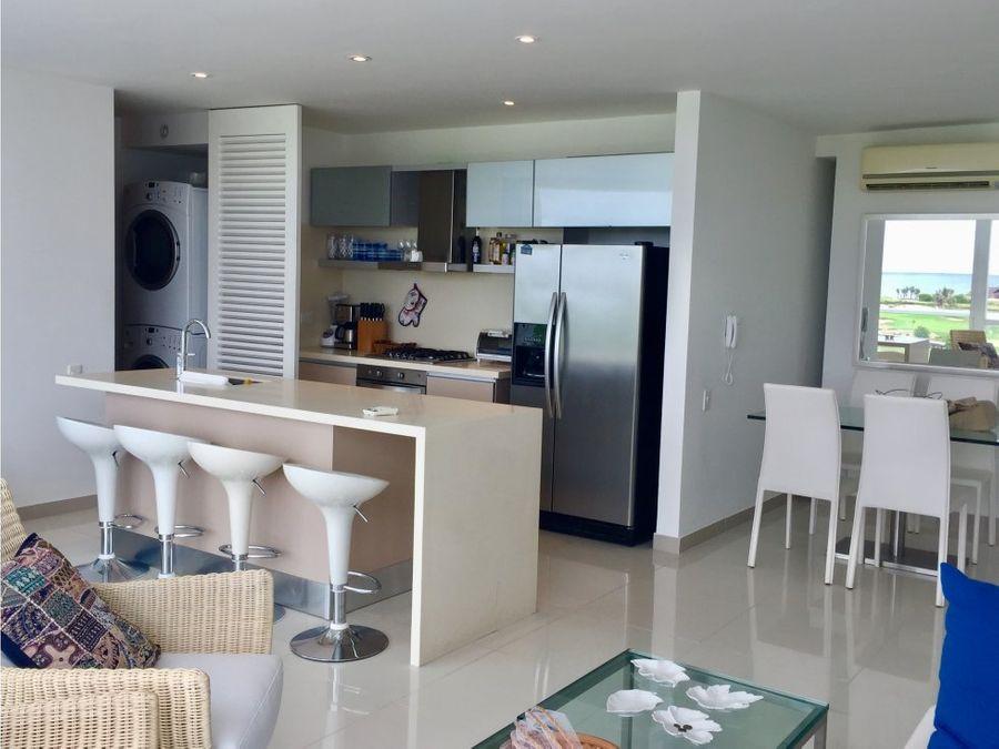 venta apartamento 2 alcobas karibana cartagena