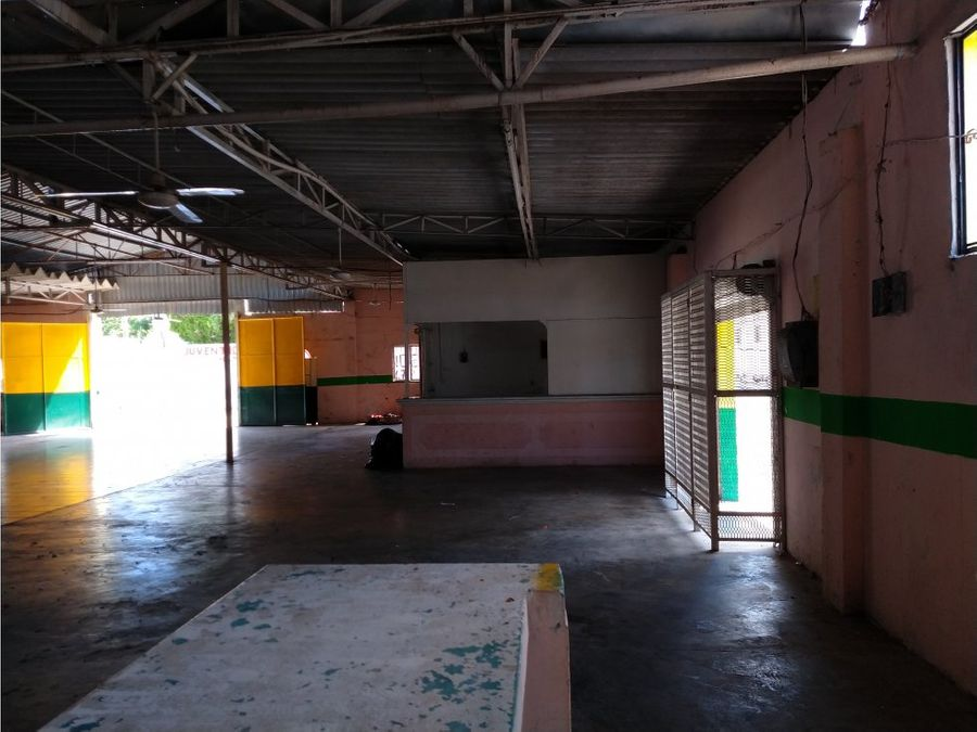 renta de bodega en champoton de 600 m2