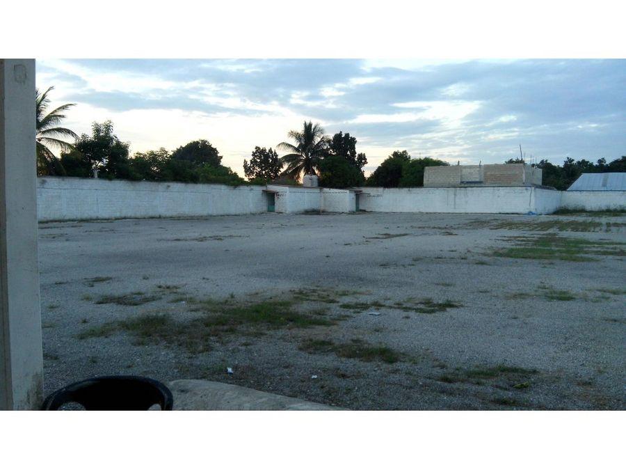 venta de terreno en champoton de 411416 m2