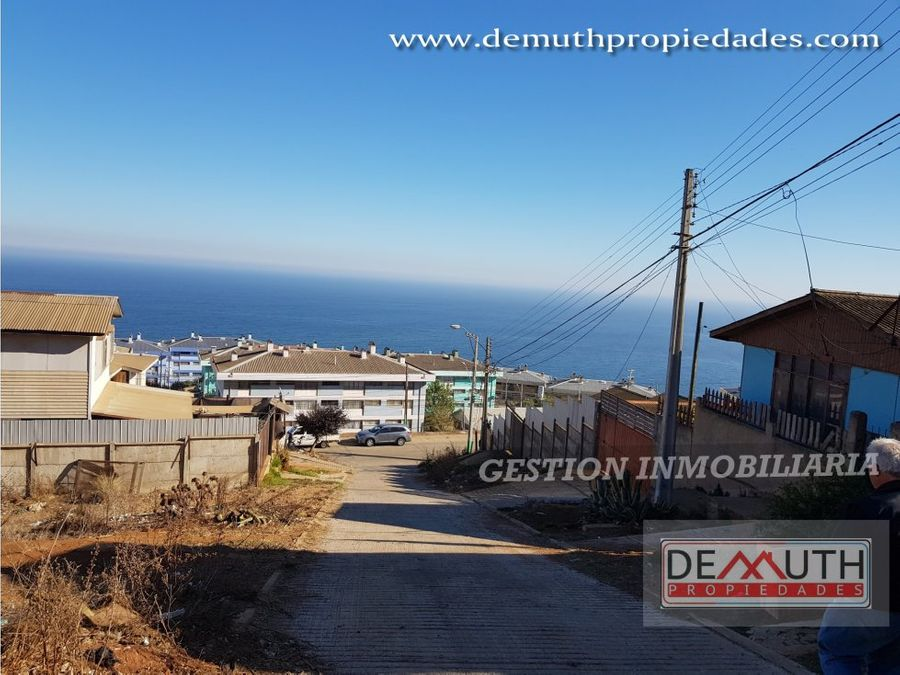 terreno con vista al mar playa ancha pacifico