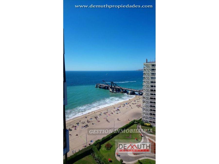 departamento frente a playa acapulco vina del mar
