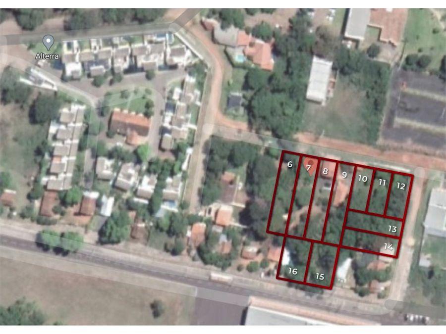vendo complejo de terrenos y residencial en luque