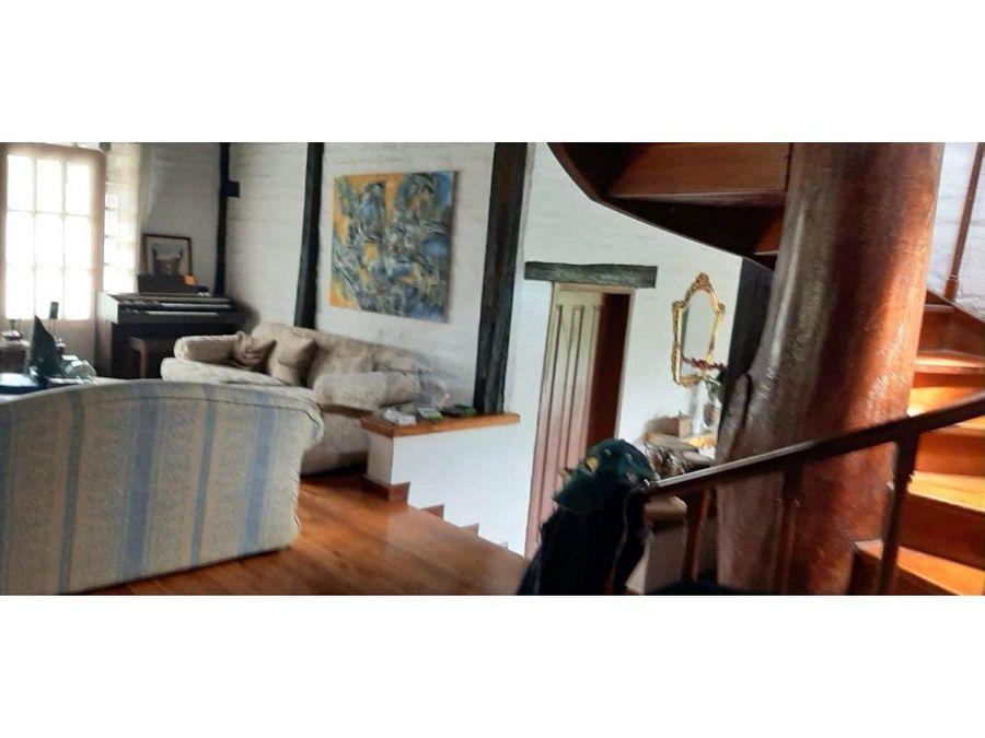 casa quinta cumbaya lumbisi 1500 m2 terreno