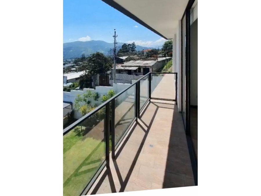 cdepartamento con hermosa vista arriendo cumbaya