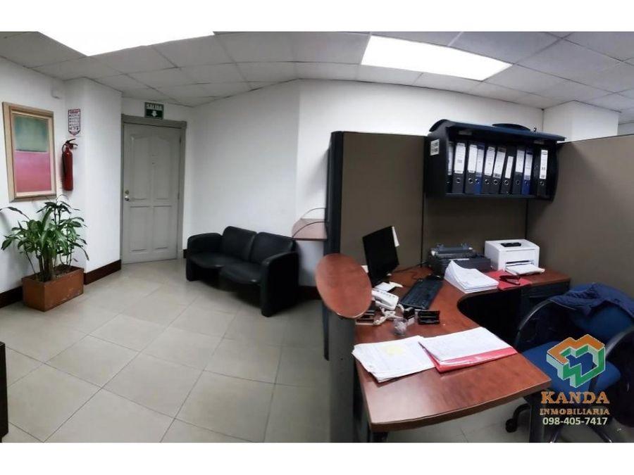 vendo arriendo oficina 105 m2 divisiones