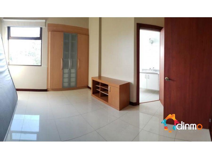 departamento exclusivo 330 m2 arriendo cumbaya