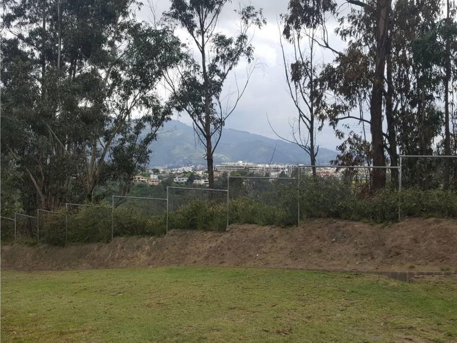 c terreno de venta en cumbaya urb rancho san francisco