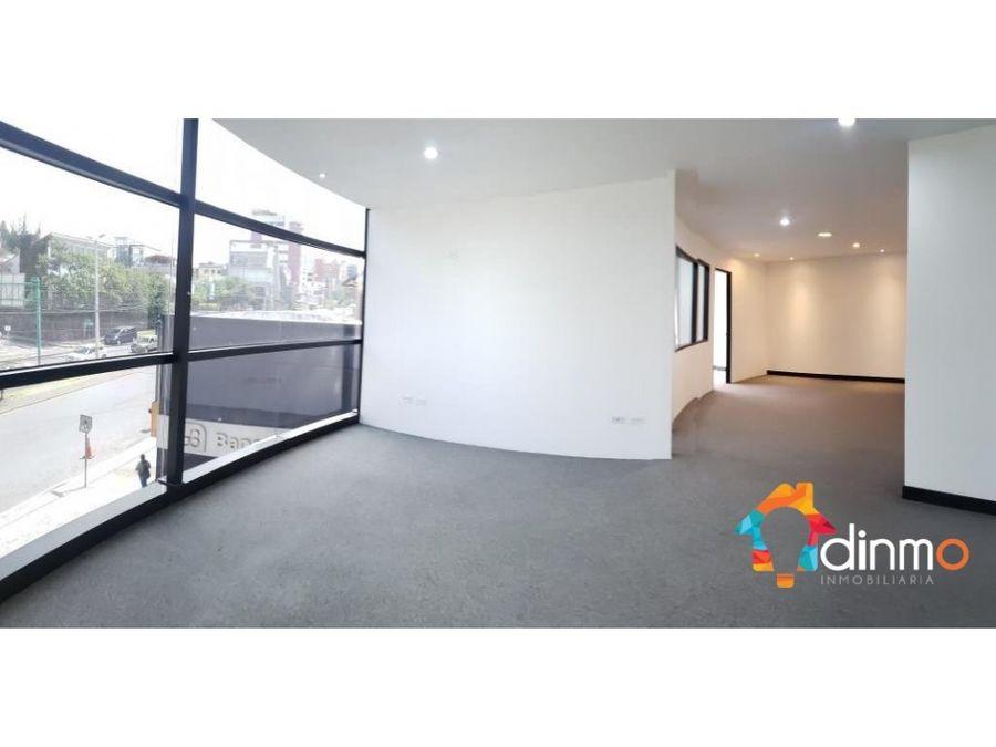 oficina en arriendo 120 m2 con divisiones y vista plaza artigas