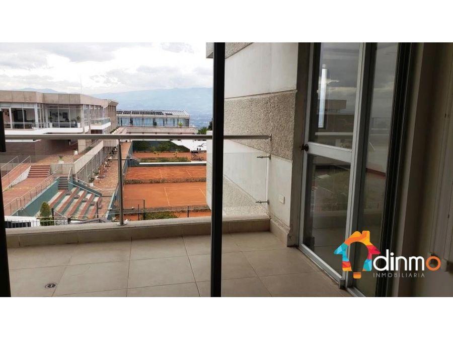departamento en venta cumbaya valle del tenis hermosa vista