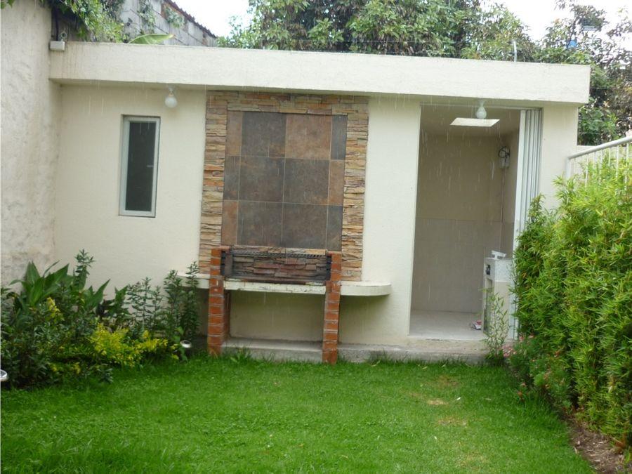 c casa de venta en cumbaya