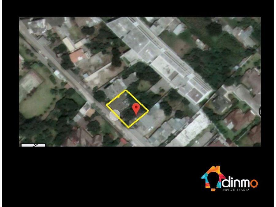 amplio terreno de 3700 m2 para constructores