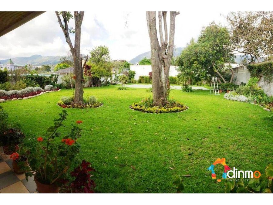 terreno detras de la usfq en venta cumbaya