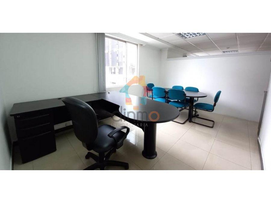 linda oficina amoblada en arriendo bellavista