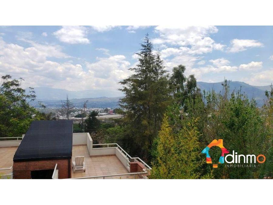 departamento de venta dentro de excelente urbanizacion en cumbaya