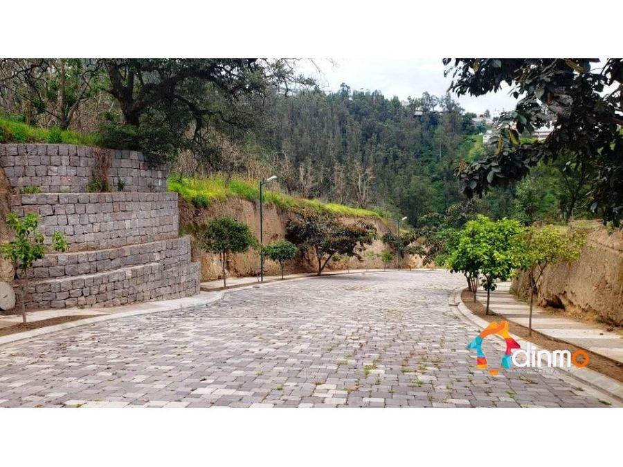 terreno vista panoramica urbanizacion cumbaya