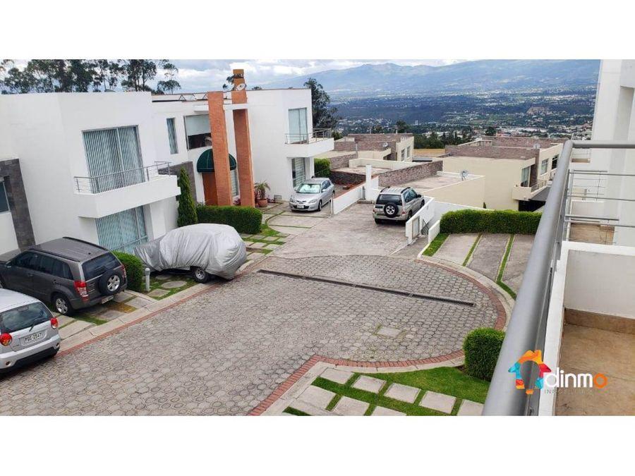 colinas de cumbaya casa en venta 3 dormitorios