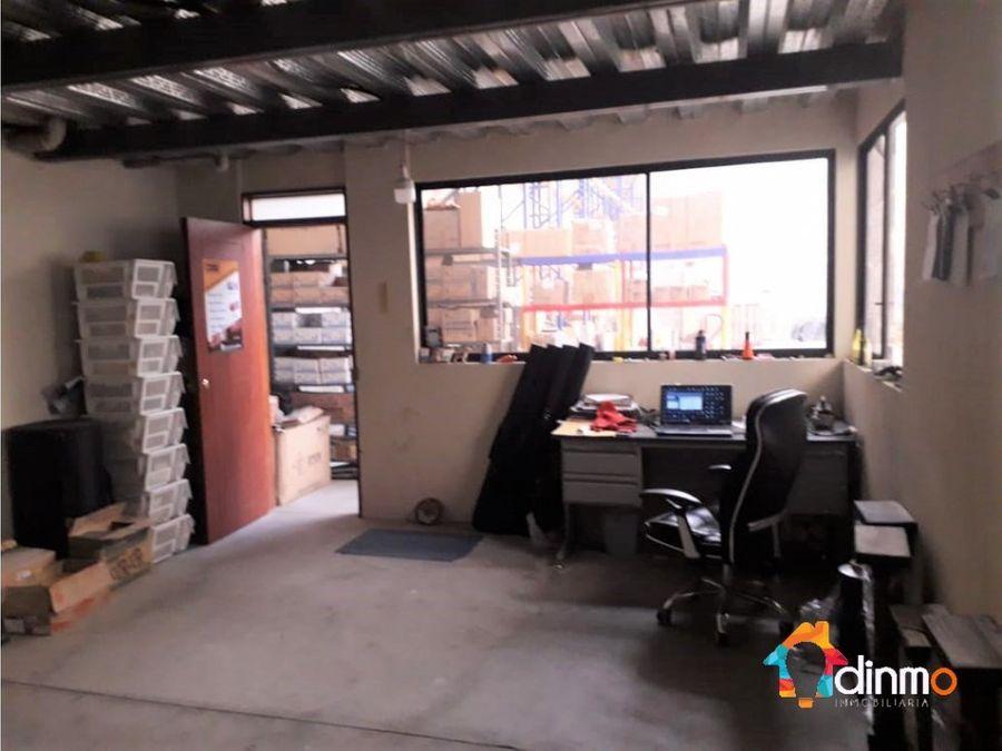 d galpon con oficinas venta 439 m2 carapungo