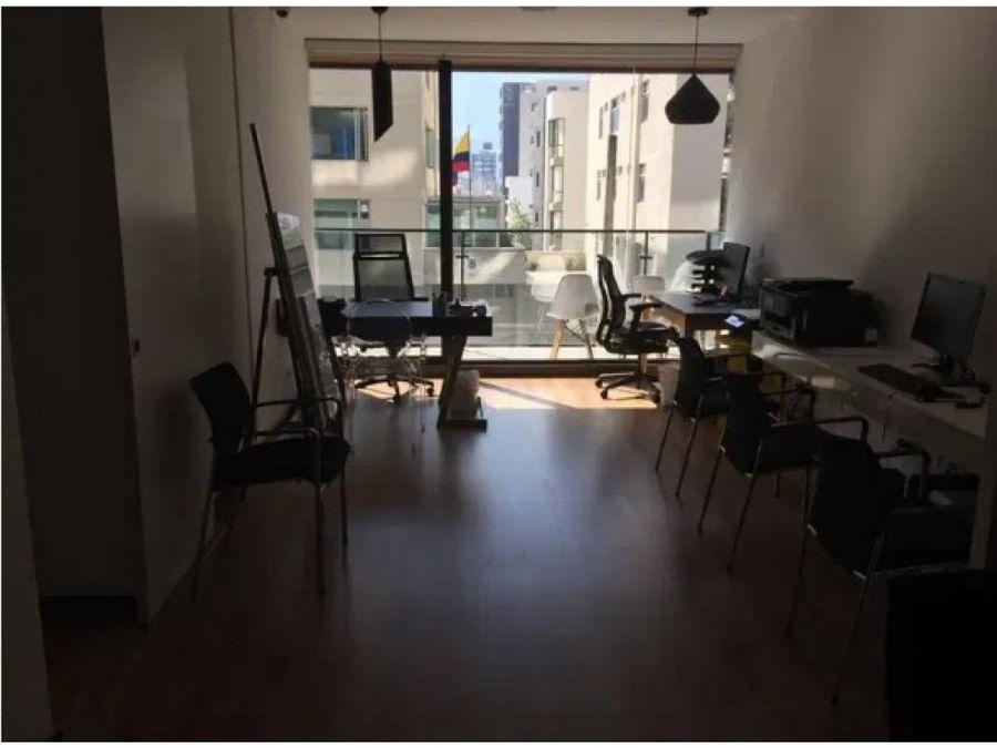 oficina en venta 70 m2 amoblada la carolina