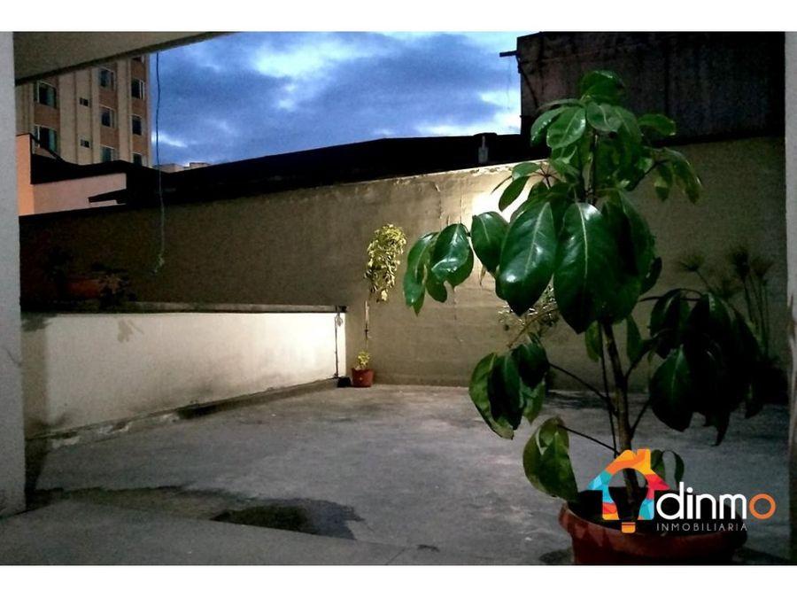 departamento esquinero arriendo 3 habitaciones sector la mariscal
